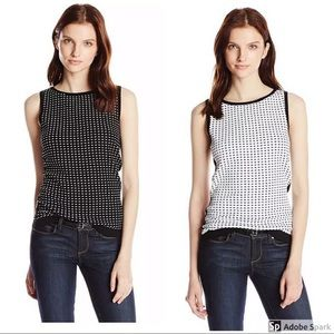 BAILEY 44 'Peg Solitaire' Reversible Sweater Tank